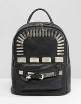 Asos Mini Western Metal Trim Backpack