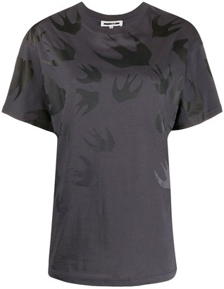 McQ swallow print T-shirt