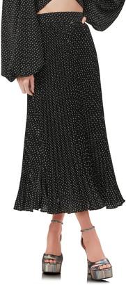 AFRM Dilan Pleated Midi Skirt