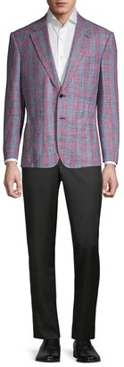Lutwyche Stacker Cotton Woven Plaid Jacket
