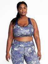 Old Navy Medium Support Plus-Size Racerback Sports Bra