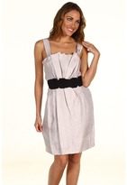 Max & Cleo Phoebe Sleeveless Dress (Dusty Pink) - Apparel
