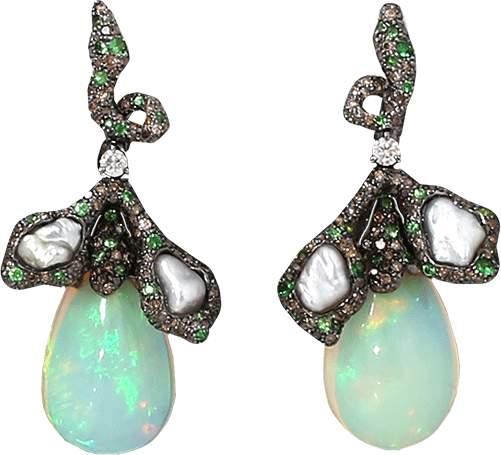 Arunashi Opal Earrings