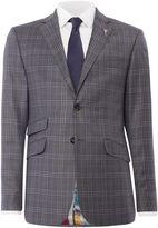Ted Baker Flore Slim Fit Tonal Check Suit Jacket