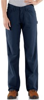 Carhartt Flame-Resistant Midweight Canvas Jeans - Loose Fit (For Women)