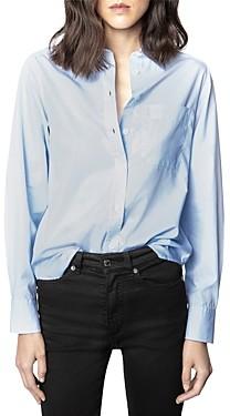 Zadig & Voltaire Tais Cutout Back Shirt