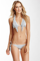 Despi Swimwear Fringe Long Triangle Top