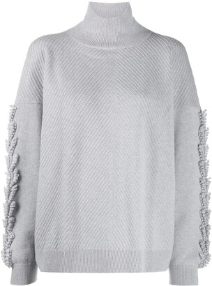 Barrie Cashmere Roll-Neck Jumper