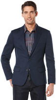 Perry Ellis Big and Tall Textured Knit Suit Jacket