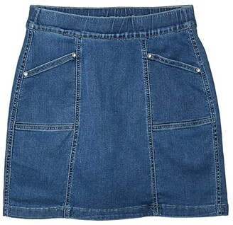 Jag Jeans Hillary Pull-On Denim Skort (Mission) Women's Skort