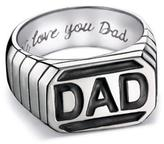 Avon Men's Stainless Steel Dad Ring