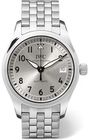 IWC SCHAFFHAUSEN - Pilot's Automatic 36 Stainless Steel Watch - Silver