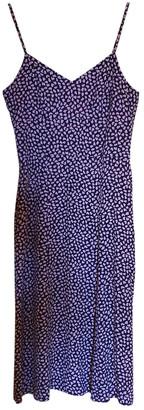 Rouje Spring Summer 2020 Purple Viscose Dresses