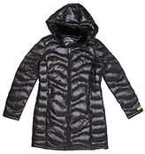 Andrew Marc Women's Packable Lightweight Premium Down Jacket (