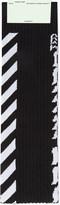 Off-White Diagonal stripe cotton-blend socks