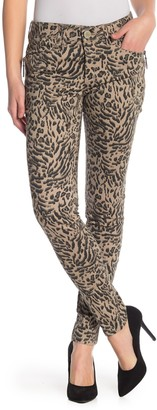 Democracy Animal Print Ab Technology Jeggings