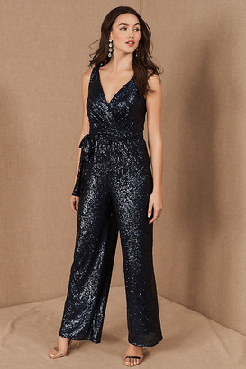 Sachin + Babi Somers Jumpsuit By in Blue Size 4
