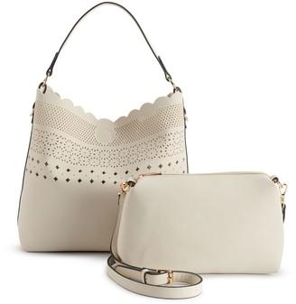 Mellow World Cersi Perforated Shoulder Bag
