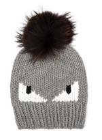 Fendi Bag Bugs knitted bobble hat
