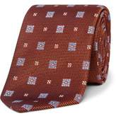 Eton Spaced Floral Tie