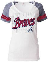 5th & Ocean Women's Atlanta Braves White Hot T-Shirt