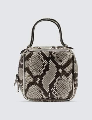 Alexander Wang Halo Handbag With Snake Print