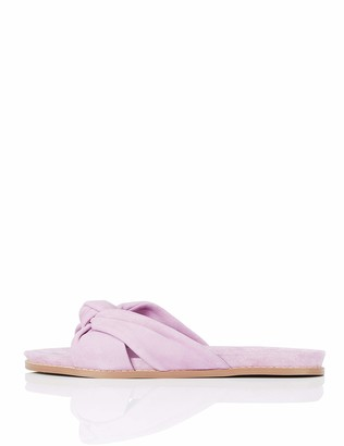 Find. Amazon Brand Women's Knot Footbed Open Sandals Pink Size: 8 UK