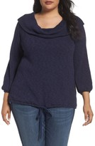 Plus Size Women's Caslon Off The Shoulder Sweater