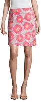 Trina Turk Margo Floral Embroidered Pencil Skirt
