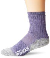 Wigwam Men's Merino Lite Hiker Midweight Crew Socks, Taupe Brown Heather, Large