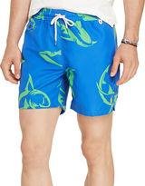 Polo Ralph Lauren Shark-Print Swim Trunks
