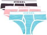Diesel three-pack briefs set