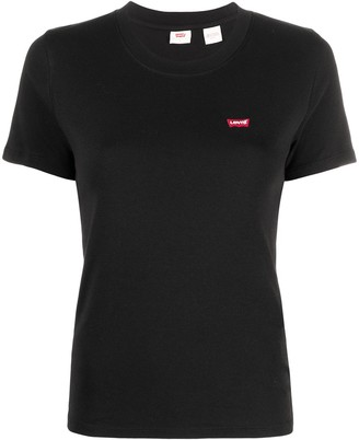 Levi's embroidered logo patch T-shirt