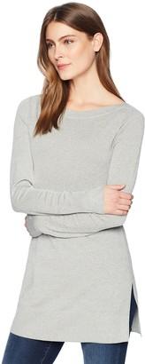 Lark & Ro Women's Boatneck Tunic Sweater