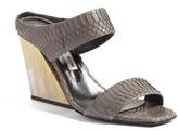 Eugenia Kim Women's Nadine Genuine Snakeskin Sandal