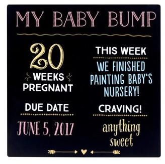 Pearhead Baby Bump Chalkboard Sign