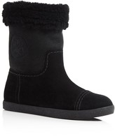Tory Burch Shearling Flat Booties