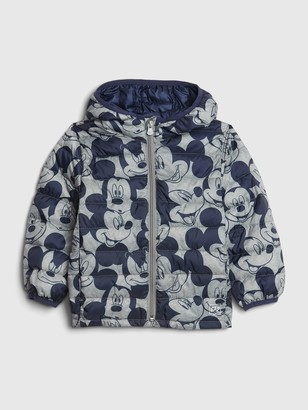 Disney babyGap | Mickey Mouse Upcycled Lightweight Puffer