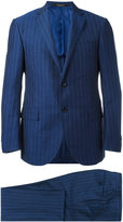 Corneliani two piece suit - men - Linen/Flax/Cupro/Wool - 48