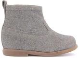 Pom D'Api Glitter Suede Zip Nioupi Boots