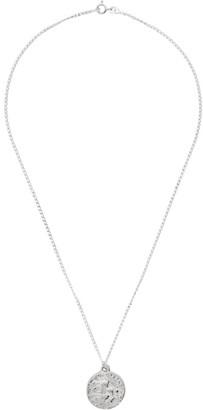 Dear Letterman Silver Kaad Pendant Necklace