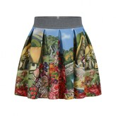 Snow White Neoprene Skirt