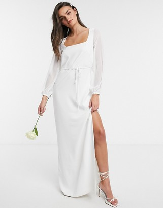 French Connection Summer White Bridal Dress