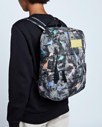 Hunter Printed Puffer Backpack