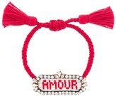 Shourouk 'Amour' beaded bracelet