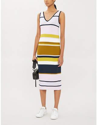 Ted Baker Izlie striped stretch-knit dress