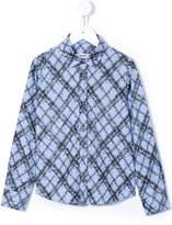 MSGM handwriting print shirt