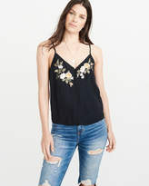 Abercrombie & Fitch Embroidered Floral Cami