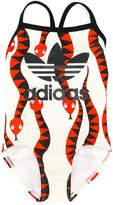 Mini Rodini Adidas X snake print swimsuit
