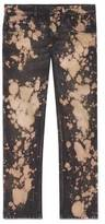 Gucci Bleached denim tapered pant